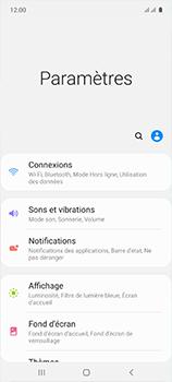 Samsung Galaxy A51 - Internet et roaming de données - Désactivation du roaming de données - Étape 4
