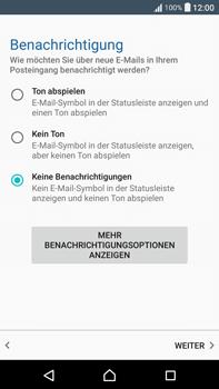 Sony F3211 Xperia XA Ultra - E-Mail - Konto einrichten - Schritt 20