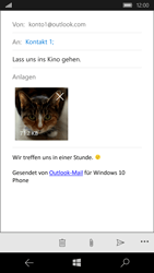 Microsoft Lumia 950 - E-Mail - E-Mail versenden - 15 / 17
