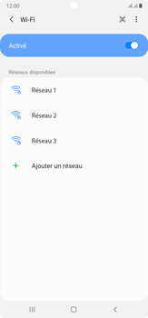 Samsung Galaxy Note20 Ultra 5G - Internet et connexion - Accéder au réseau Wi-Fi - Étape 7