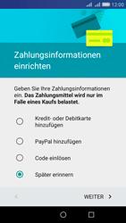 Huawei Y6 - Apps - Konto anlegen und einrichten - Schritt 18