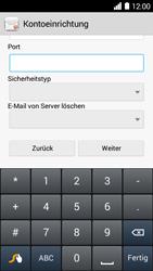 Huawei Ascend Y530 - E-Mail - Konto einrichten - Schritt 11