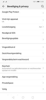 Huawei P30 Pro - Toestel - stel Zoek mijn mobiel in - Stap 4