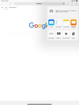 Apple ipad-pro-12-9-inch-2018-model-a1895 - Internet - Hoe te internetten - Stap 6