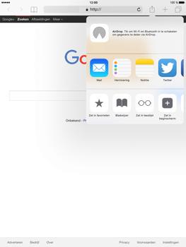 Apple iPad Mini 4 - Internet - Hoe te internetten - Stap 16