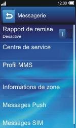 Sony TXT Pro - SMS - Configuration manuelle - Étape 6