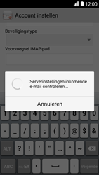 Huawei Ascend Y530 - E-mail - e-mail instellen: IMAP (aanbevolen) - Stap 12