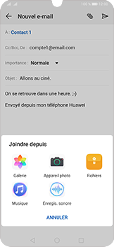 Huawei P30 - E-mail - envoyer un e-mail - Étape 10