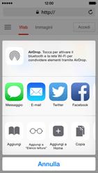 Apple iPhone 5c iOS 8 - Internet e roaming dati - Uso di Internet - Fase 17