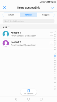 Huawei Mate 9 - E-Mail - E-Mail versenden - Schritt 6