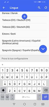 Huawei P30 Lite - Operazioni iniziali - Come aggiungere una lingua alla tastiera - Fase 10