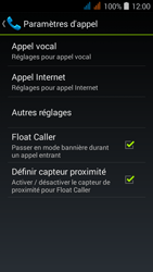 Acer Liquid Z520 - Messagerie vocale - configuration manuelle - Étape 6