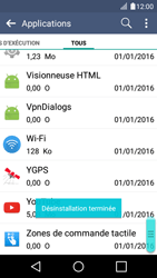 LG K4 - Applications - Supprimer une application - Étape 9