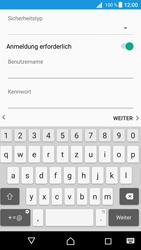 Sony Xperia Z5 (E6653) - Android Nougat - E-Mail - Konto einrichten - Schritt 17