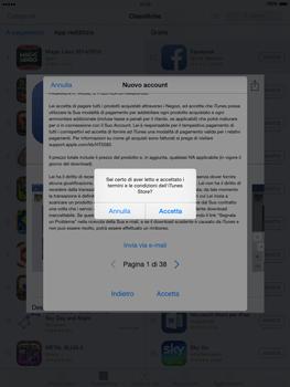 Apple iPad Air - iOS 8 - Applicazioni - Configurazione del negozio applicazioni - Fase 11