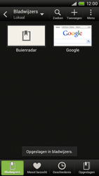 HTC S720e One X - Internet - Internet gebruiken - Stap 11