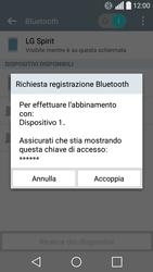 LG Spirit 4G - Bluetooth - Collegamento dei dispositivi - Fase 7