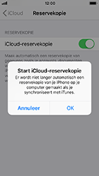 Apple iPhone 5s - iOS 12 - toestel resetten - back-up maken met jouw account - stap 13