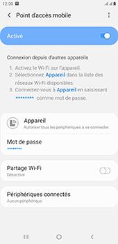 Samsung Galaxy J6 Plus - Internet - comment configurer un point d'accès mobile - Étape 12