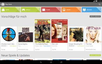 Sony Xperia Tablet Z2 LTE - Apps - Herunterladen - 4 / 20