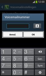 Samsung S7275 Galaxy Ace 3 - Voicemail - handmatig instellen - Stap 9