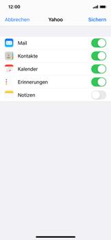 Apple iPhone 11 Pro - iOS 14 - E-Mail - 032b. Email wizard - Yahoo - Schritt 8