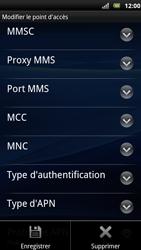 Sony Xperia Arc S - Internet - Configuration manuelle - Étape 13