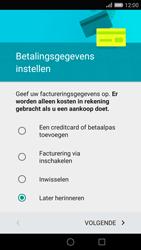 Huawei P8 - apps - account instellen - stap 16