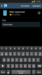 Samsung I9505 Galaxy S IV LTE - Internet - Hoe te internetten - Stap 12