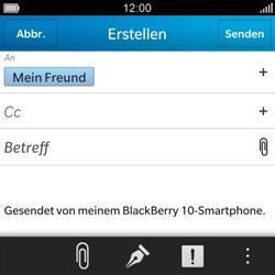 BlackBerry Q5 - E-Mail - E-Mail versenden - 2 / 2