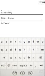 LG E900 Optimus 7 - E-mail - Envoi d