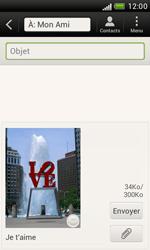 HTC T328e Desire X - MMS - envoi d'images - Étape 12