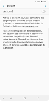 Samsung Galaxy Note9 - Bluetooth - Jumelage d