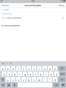 Apple iPad Air - E-Mail - E-Mail versenden - 0 / 0