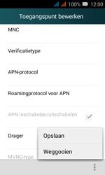 Huawei Y3 - Internet - Handmatig instellen - Stap 17