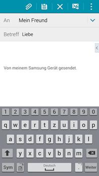 Samsung Galaxy Note 4 - E-Mail - E-Mail versenden - 2 / 2
