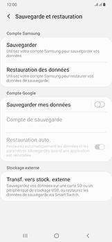 Samsung Galaxy A50 - Données - créer une sauvegarde avec votre compte - Étape 6