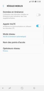Samsung Galaxy S8 - Android Oreo - Réseau - Activer 4G/LTE - Étape 6