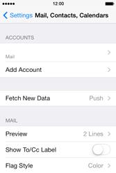 Apple iPhone 4S iOS 7 - E-mail - Manual configuration - Step 18
