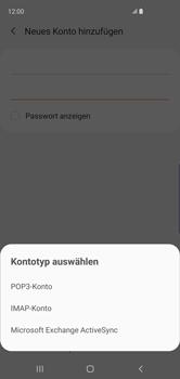 Samsung Galaxy S10 - E-Mail - Manuelle Konfiguration - Schritt 9