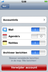 Apple iPhone 4 - E-mail - Handmatig instellen - Stap 12