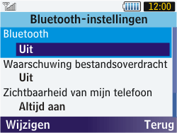 Samsung S3570 Chat 357 - bluetooth - aanzetten - stap 7