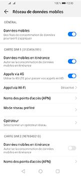 Huawei Y6 (2019) - Aller plus loin - Désactiver les données à l'étranger - Étape 5