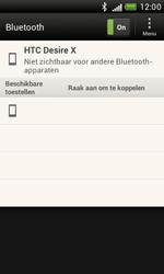 HTC T328e Desire X - Bluetooth - koppelen met ander apparaat - Stap 9