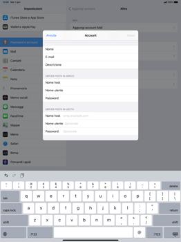 Apple iPad Pro 12.9 (2018) - ipados 13 - E-mail - configurazione manuale - Fase 13