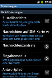 Samsung S5830 Galaxy Ace - SMS - Manuelle Konfiguration - Schritt 4