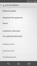 Sony Xperia E4g (E2003) - Software updaten - Update installeren - Stap 5