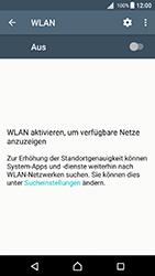 Sony Xperia X - WLAN - Manuelle Konfiguration - 1 / 1