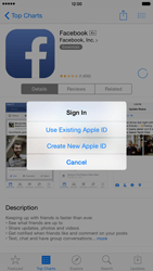 Apple iPhone 6 Plus - iOS 8 - Applications - Setting up the application store - Step 9