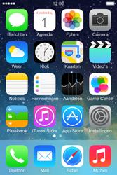 Apple iPhone 4 iOS 7 - SMS - handmatig instellen - Stap 1